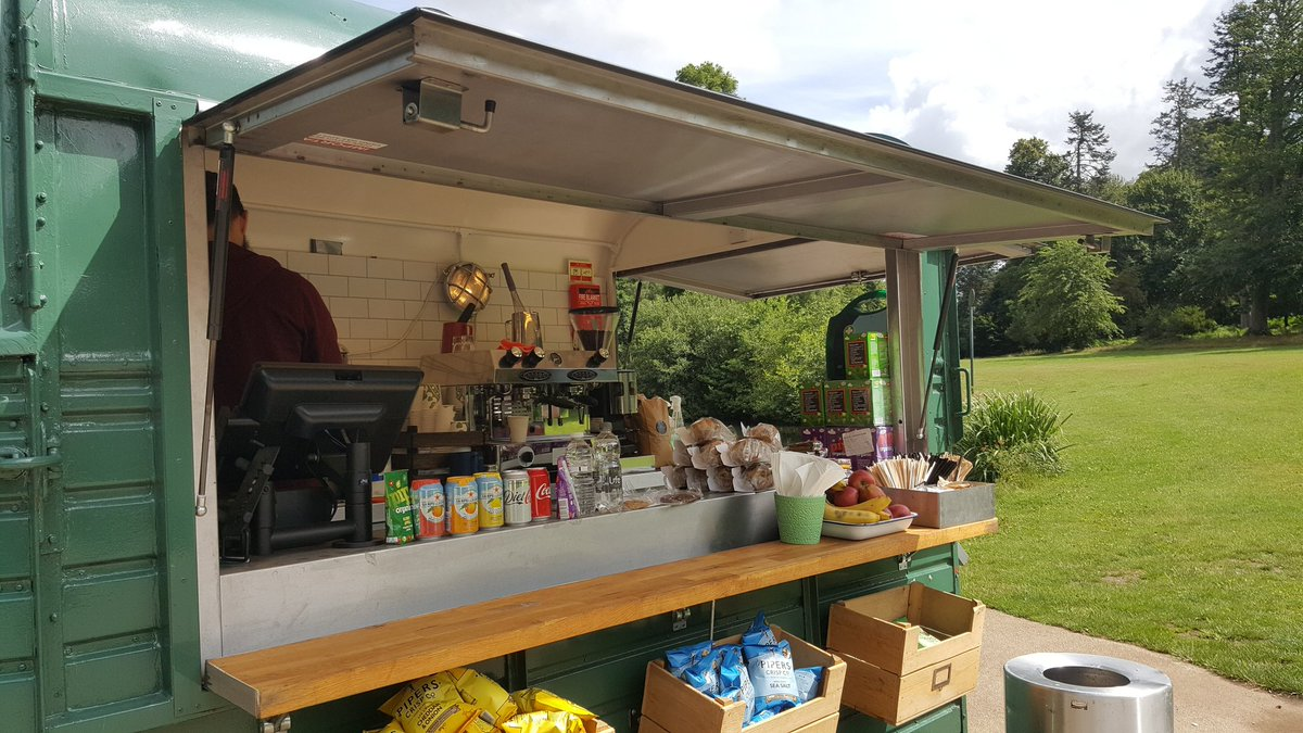 test Twitter Media - RT @jiffy955: SpacePole and contactless payment helping deliver a great cup of coffee in Windsor Great park!!😀 https://t.co/zGzst4WyCp