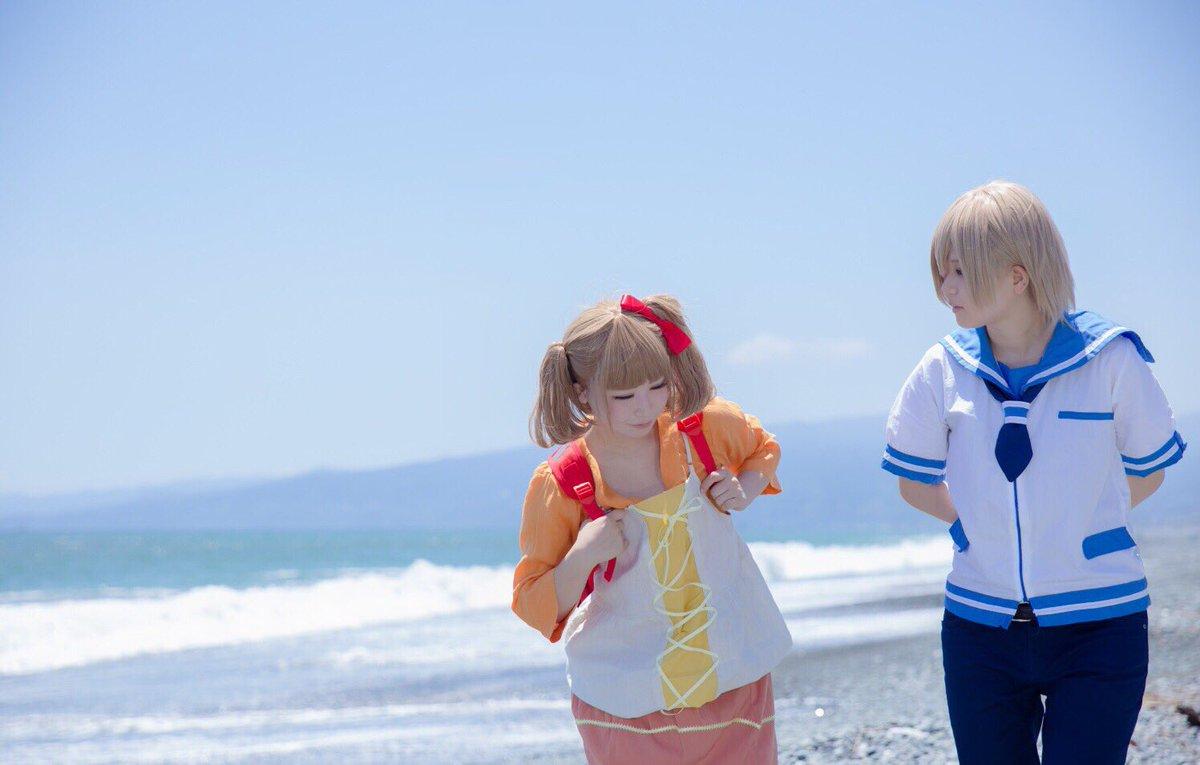 【コスプレ】凪のあすから近いようで遠くて。いつだって、届かない…。伊佐木 要:舞斗久沼 さゆ:菜稚photo:しょうさん