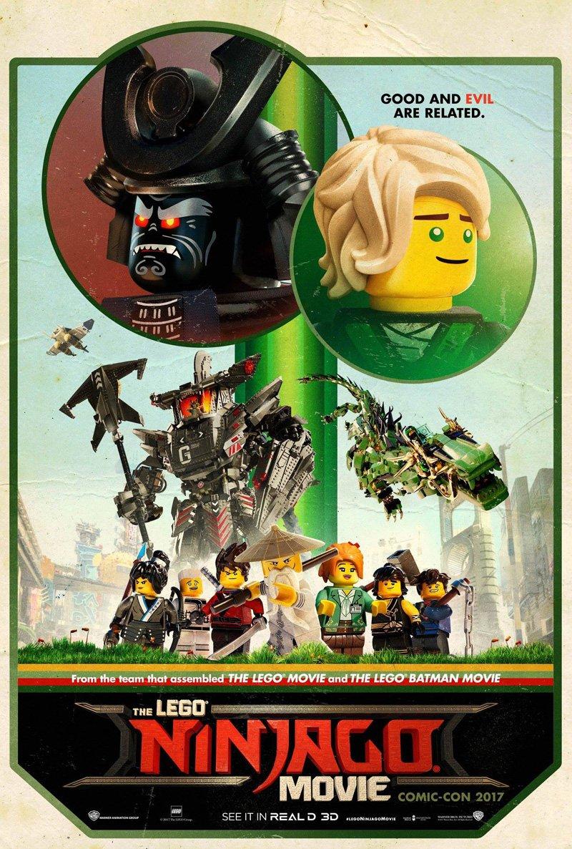 """チャーリー・ビーン、ポール・フィッシャー、ボブ・ローガン監督「レゴ ニンジャゴー ザ・ムービー」(""""The Lego N"""