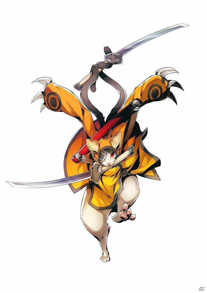 """【今週の注目記事】AC「ブレイブルー セントラルフィクション」""""六英雄""""最後のプレイアブルキャラに最強の剣士「獣兵衛」が"""