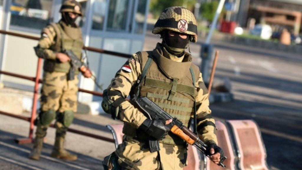 Egypt kills 30 extremists in Sinai: military