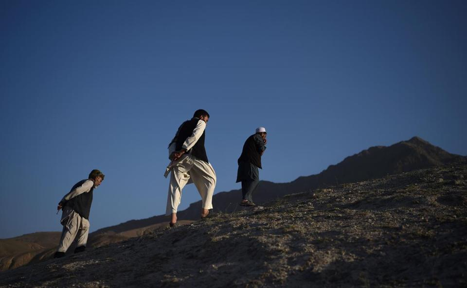 Errant US bombing kills 12 Afghan security forces