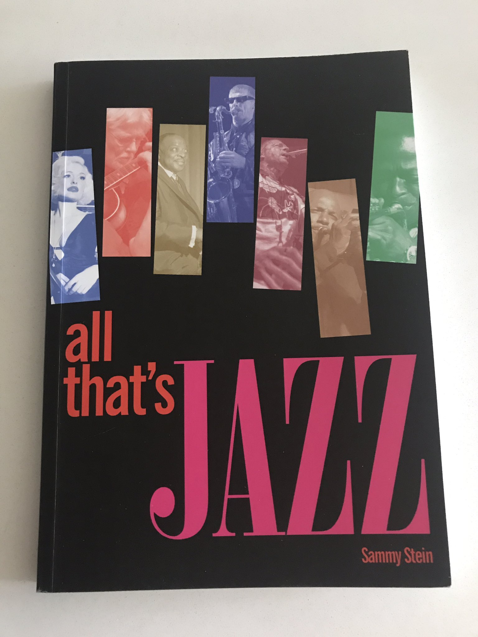 Look what's come in the mail today @SammyStein111 's new book! Can't wait to read it. @Jazzigator @zootswings @loucheliferadio @TheJazzSoul https://t.co/P6QSG2vaQa