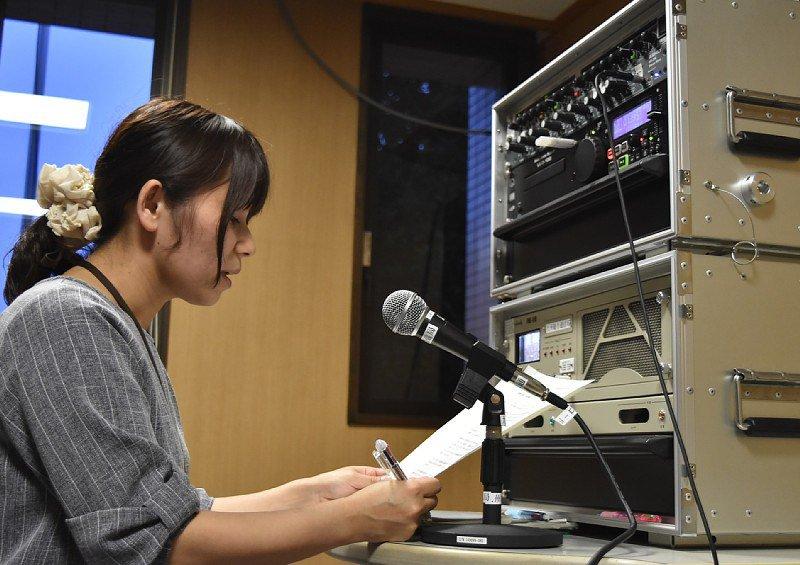 Temporary radio station in disaster-hit Asakura begins broadcasts to help restore city