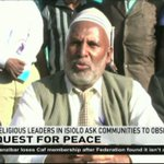 Religious leaders in Isiolo ask communities to observe peace