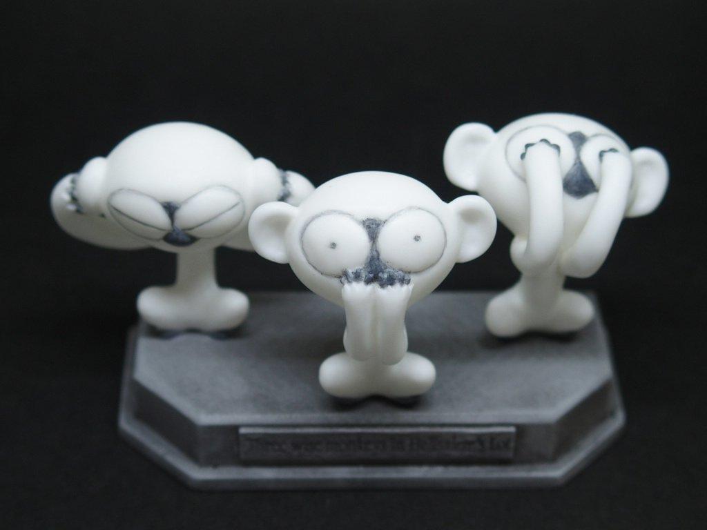 再販「ヘルサレムズロットの三猿」 3500円 10個「音速猿ソニック」 2500円 16個音速~のほうは今回で最終かも。