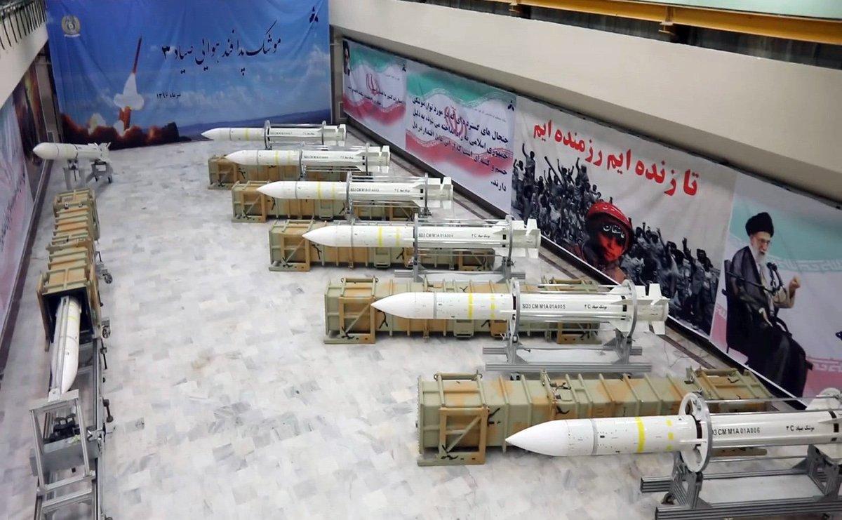 Iran start productie afweerraketten