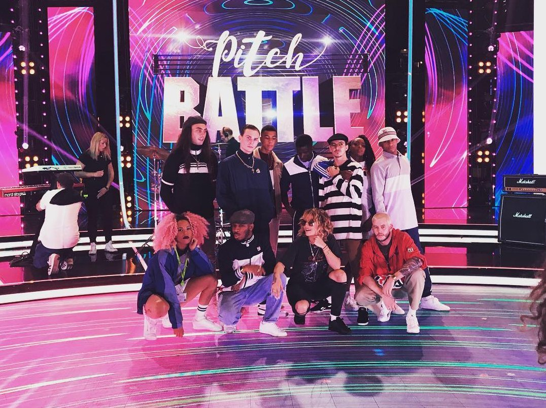 Catch me tonight on @bbcpitchbattle at 8.50PM!!!! ❤️❤️❤️ #YOURSONG https://t.co/Ms7D0BuMhm