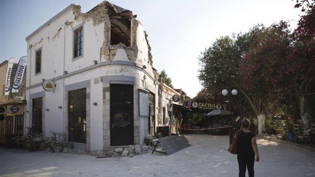 2 aftershocks hit damaged Greek island of Kos