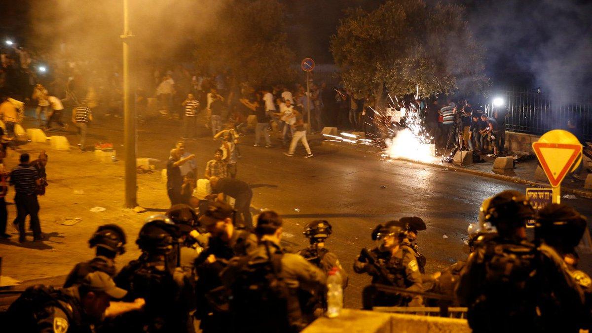 Violences à Jérusalem: la France demande une réunion d'urgence à l'ONU