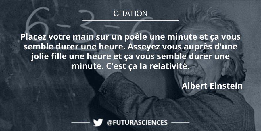 Une autre explication de la #théorie de la #relativité