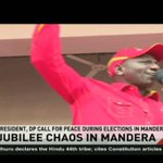 12 injured as Jubilee party supporters clash with EFP Supporters