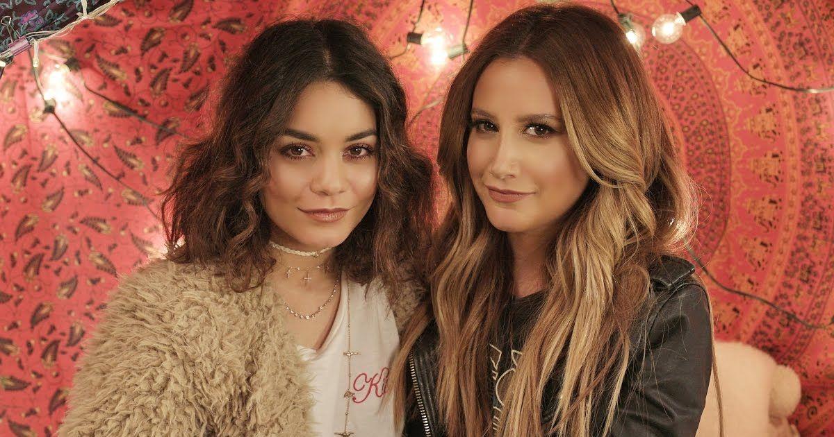 Ashley Tisdale. Foto do site da Pure Break que mostra Luísa Sonza, Ashley Tisdale e os canais de cover no YouTube que você precisa conhecer!