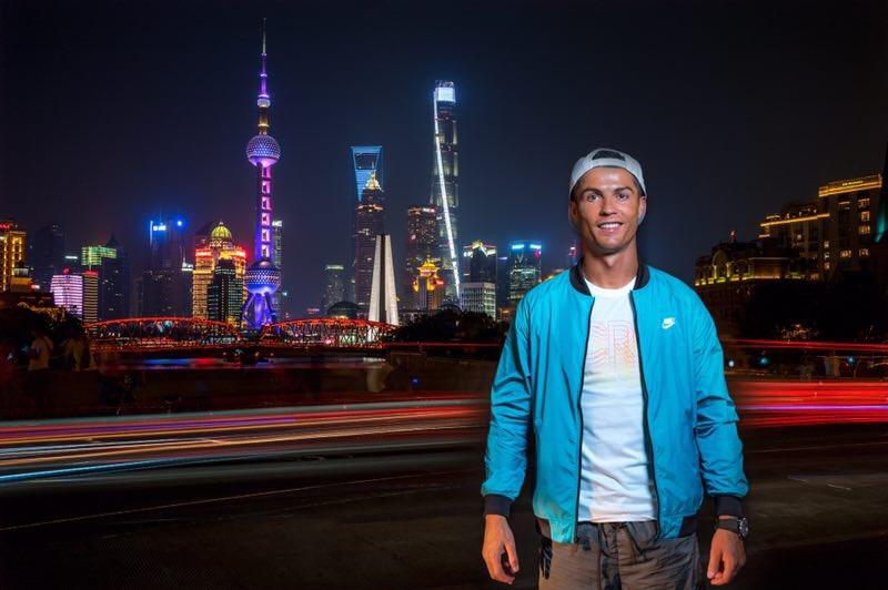 Thank you Shanghai! More tomorrow... #CR7LIVE https://t.co/9odJbMj8pZ