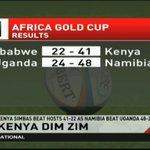 Kenya Simbas beat hosts 41-22 as Namibia beat Uganda 48-24