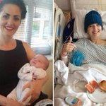 Breast cancer survivor gives birth to 'miracle' baby boy