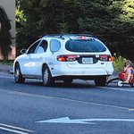 Mom who towed kids in wagon behind car pleads guilty