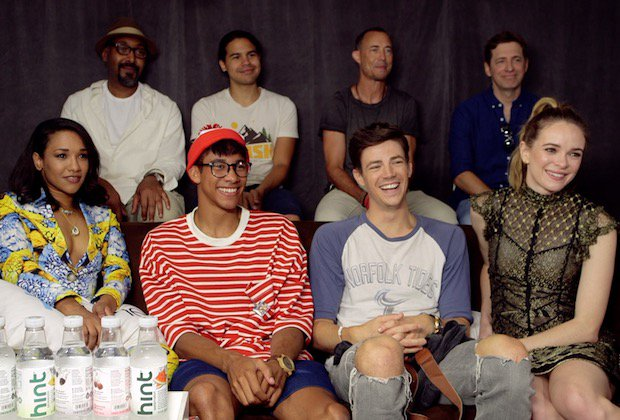 #TheFlash Cast Video Will 'Scrambled' Barry Return in Time for His Wedding? #SDCC