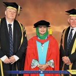 Honorary doctorate for Raja Zarith