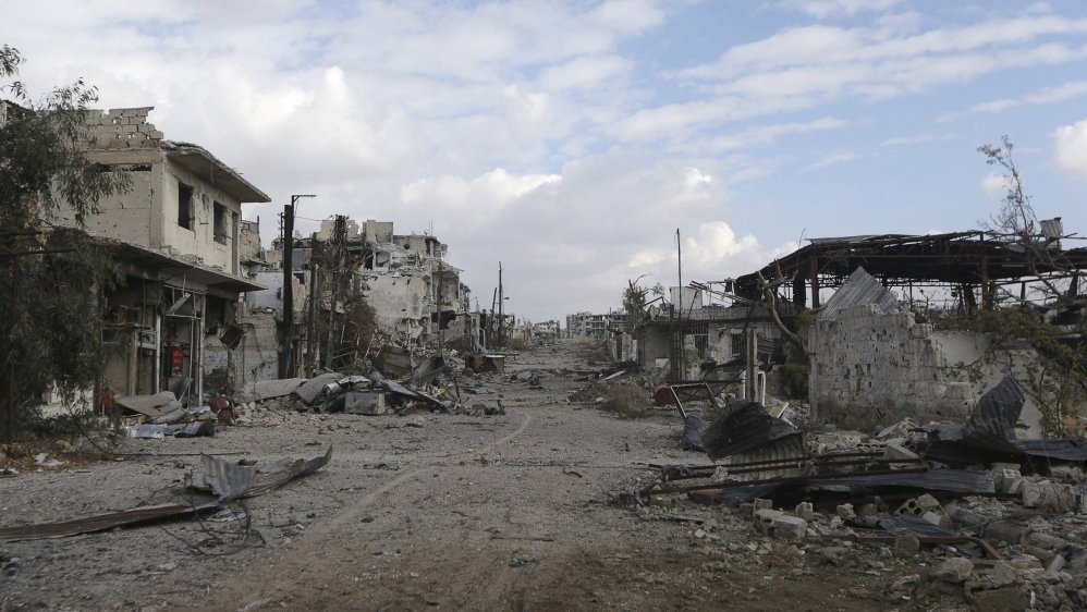 'Death is a central part of their daily lives'  Life in the besieged town of Jobar in Syria