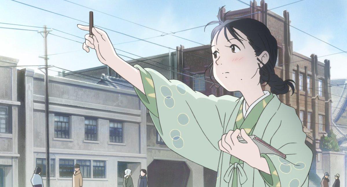 『この世界の片隅に』。あいにく8.15の終戦記念日は火曜定休日のため上映がないのですが、広島原爆投下の8.6(日)には上