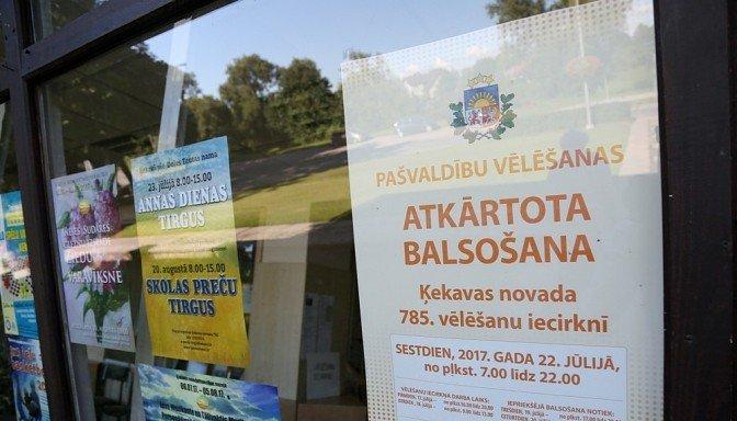 Ķekavas novadā Jaunā konservatīvā partija atņem vienu vietu LZS pēc atkārtotām pašvaldību vēlēšanām