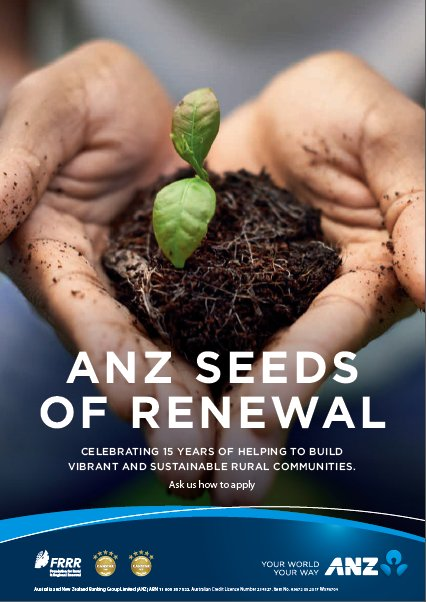 @ANZ_AU #SeedsofRenewal applications now open -...