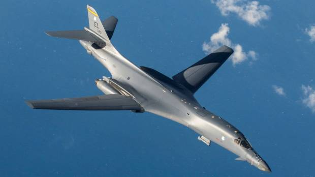 US flies bombers over Korean peninsula after North Korea's missile test