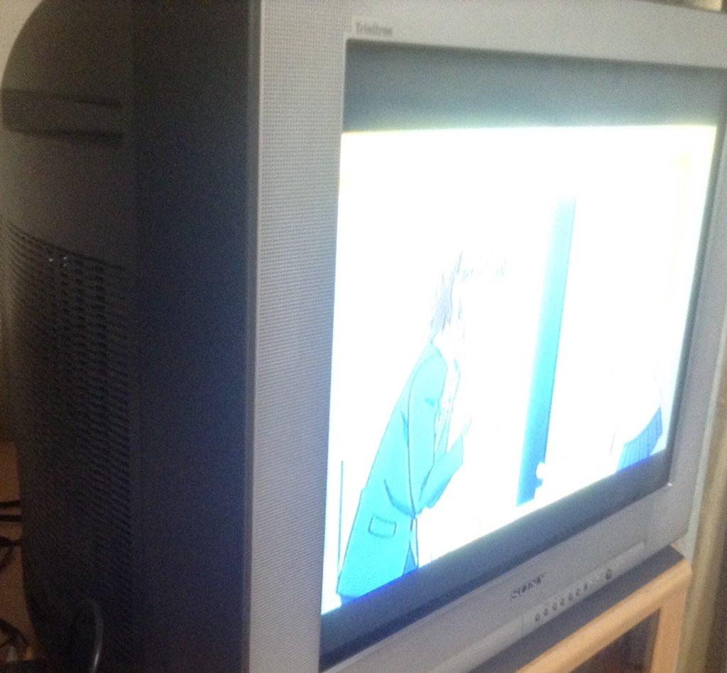 ブラウン管テレビで琴浦さんなう