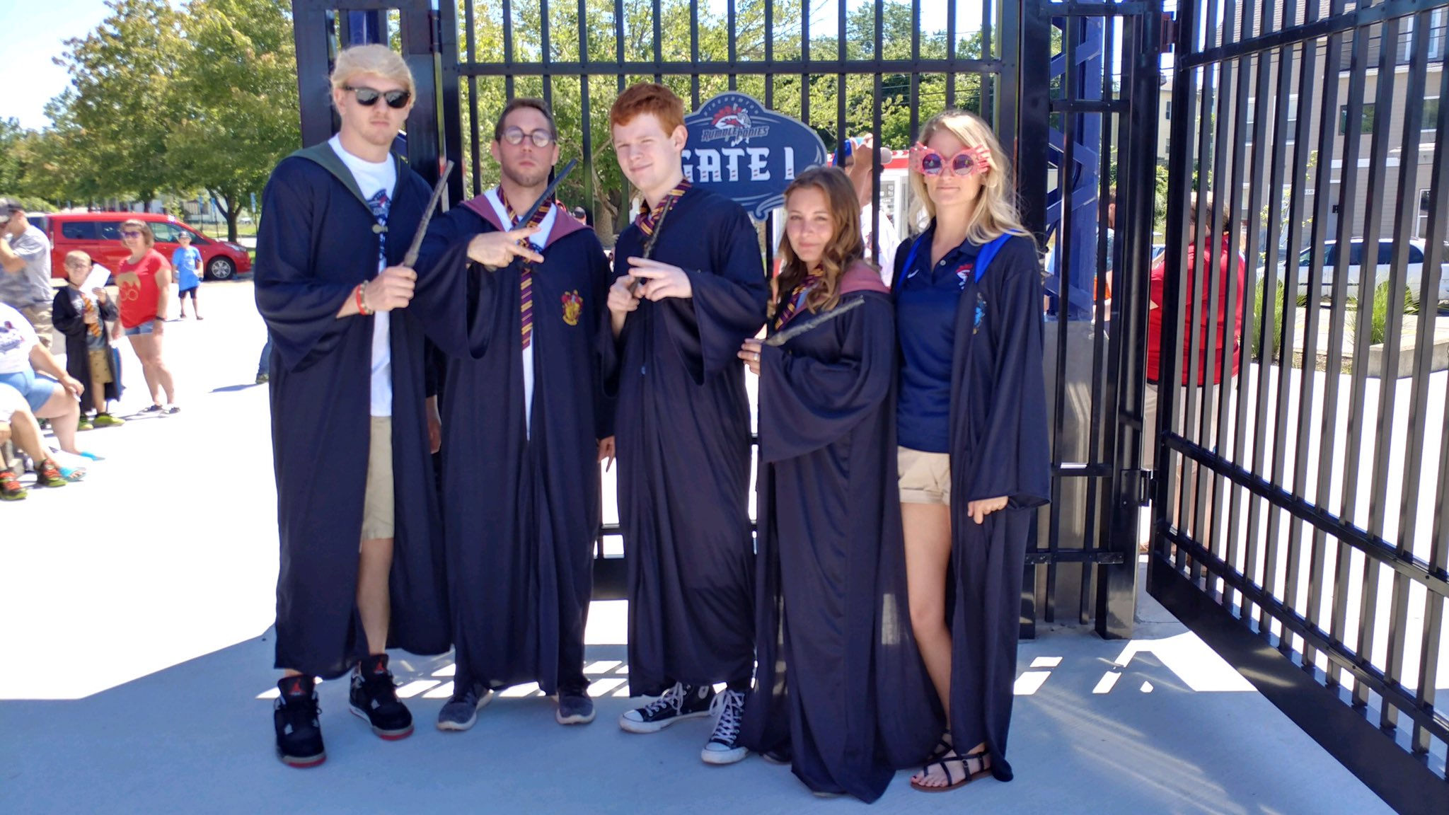 Happy Birthday Harry Potter!  We have a free wizarding class in the fun zone before the game!