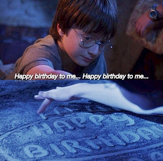 Happy birthday to Harry·Potter!love forever!