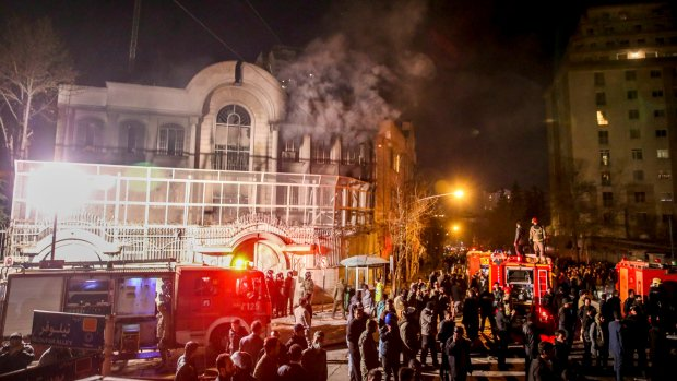 Jail sentences upheld for Saudi embassy attackers in Iran