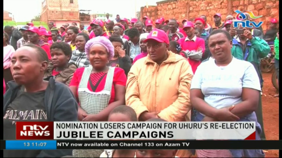 Jubilee MPs campaign for Uhuru's re-election