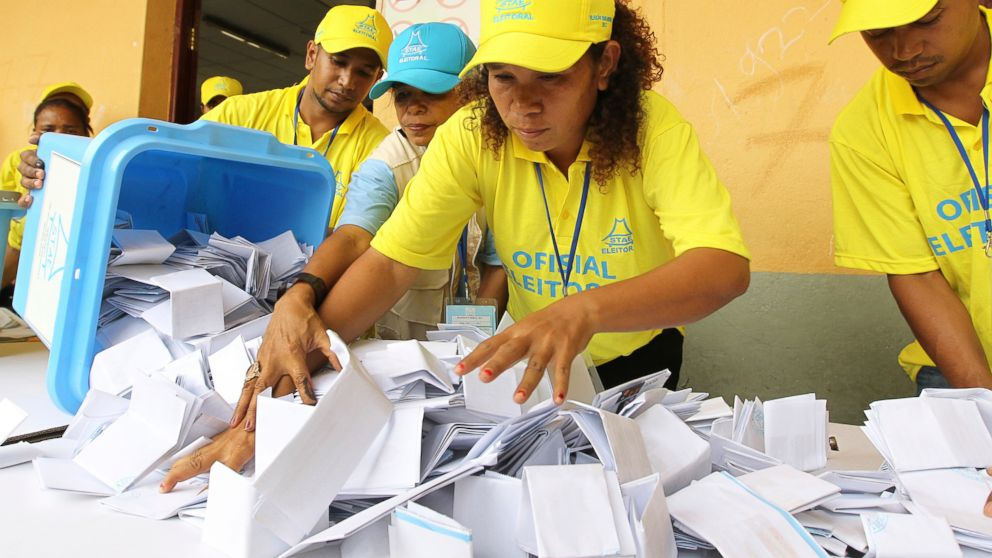 East Timor vote results show Fretilin winning largest share
