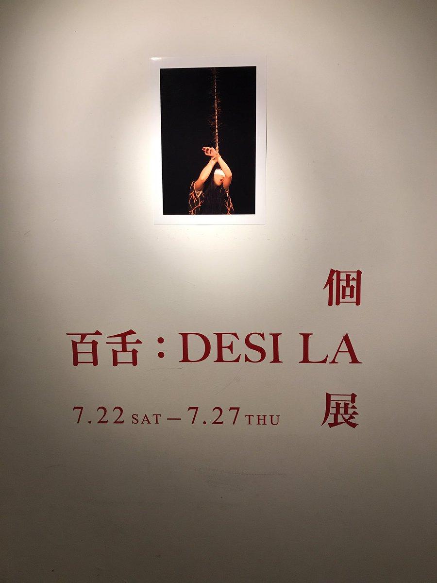 百舌さんとささみさんに会いに、百舌:DESILA個展に行ってきましたよ!想縄メンバーもいて、ささみさんが美しくてふわふわ