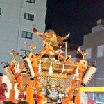 浦和の調ちゃんクラスタの中でただ一人ハブられる大谷場南神輿の図 #浦和祭り