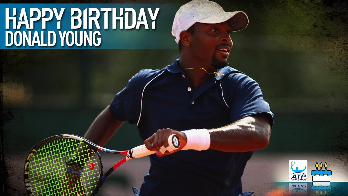 Happy 28th birthday Donald Young �� @Yimlife1313 ���� View #ATP Profile: https://t.co/RPugDJhBml https://t.co/JDin1b57Ti