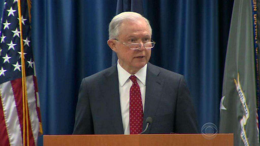 AG Jeff Sessions calls on local officials to comply with immigration crackdown