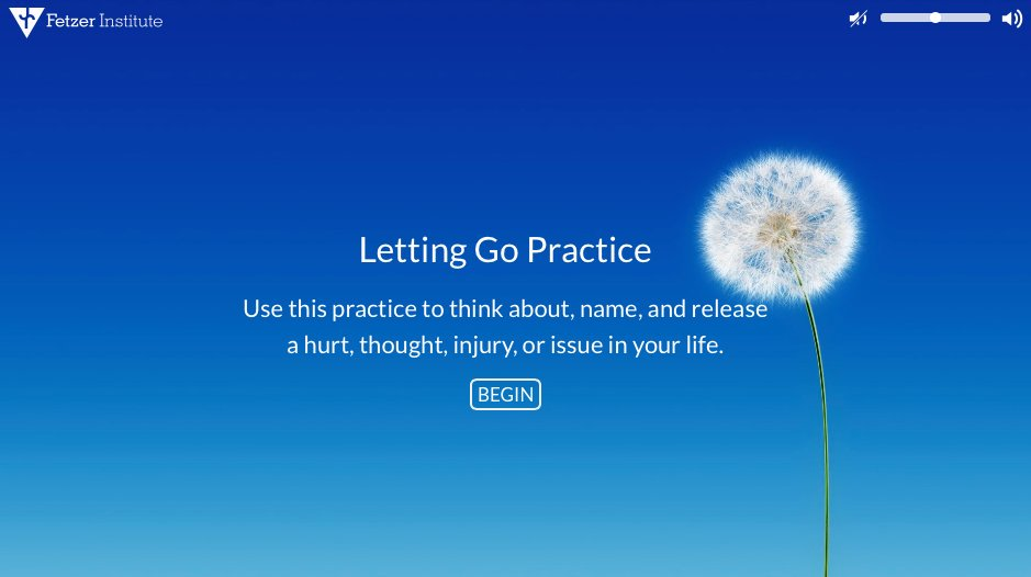 Is there a hurt or thought you'd like to release? Try our interactive Letting Go Practice. https://t.co/2uuLnK4WuM https://t.co/2YFL3bTDqv