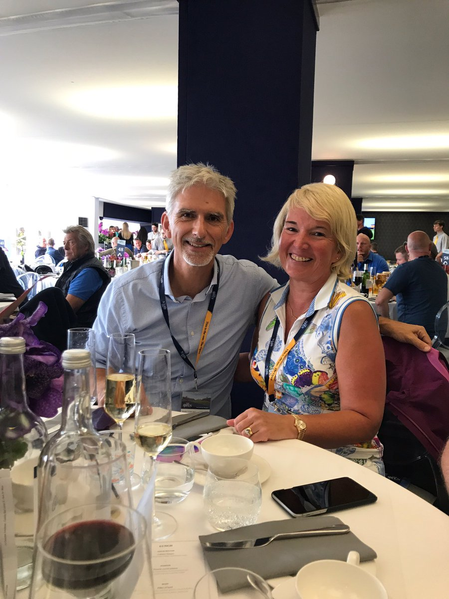 test Twitter Media - Having a fantastic day 4 at royal birkdale- so exciting. Alison the FD trying to fend off everyone that wants a selfie with Damon  @HillF1 https://t.co/8ouOdEbvws