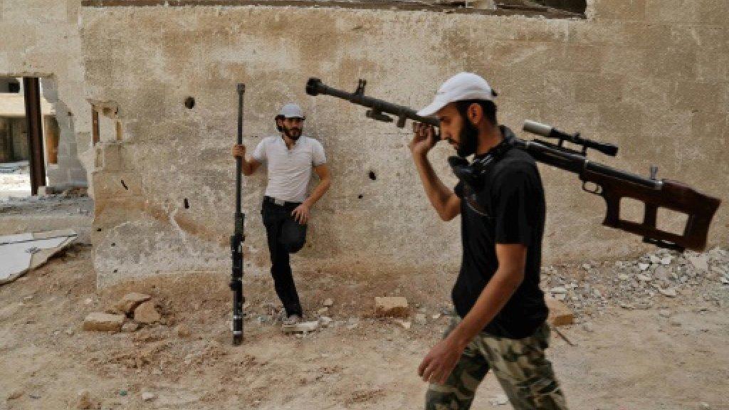 Syria strikes hit near Damascus despite ceasefire: monitor