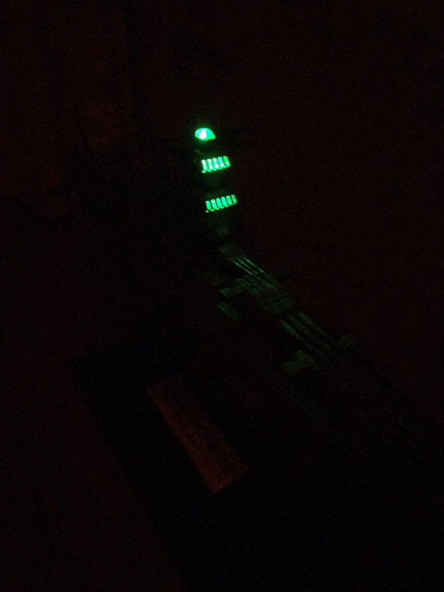 1/500宇宙戦艦ヤマト2199に1/1000ドレッドノート主力戦艦 の発光ユニット使えた#yamato2202 #ya
