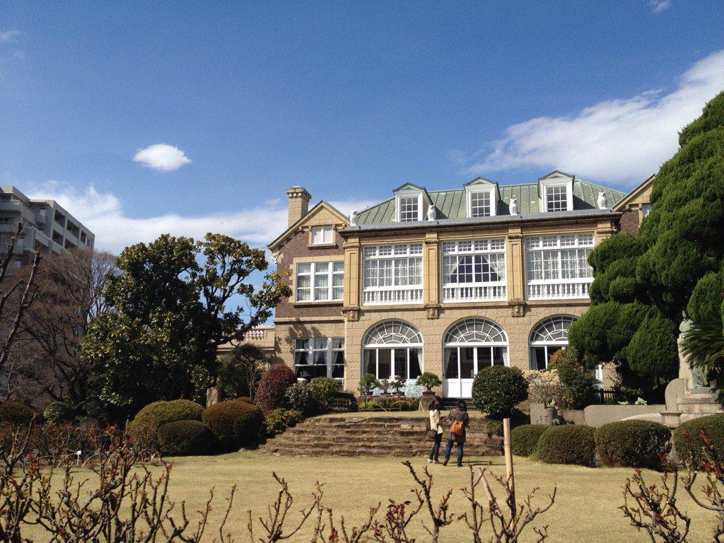 少年メイドの原画やった時は個人的ロケハンしに鳩山邸に行ったよ。