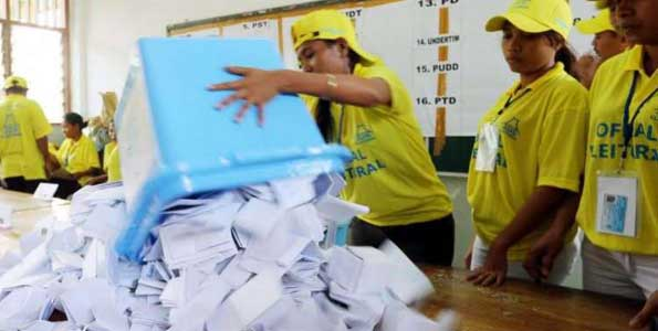 Two biggest parties neck-and-neck in East Timor election