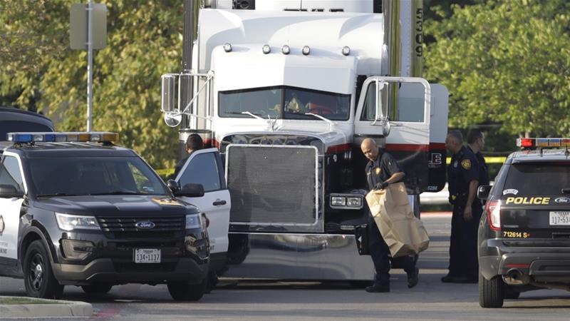 test Twitter Media - Eight found dead in a lorry in the US city of San Antonio, Texas https://t.co/S8kvutyg9t https://t.co/6xyL7kKFc5