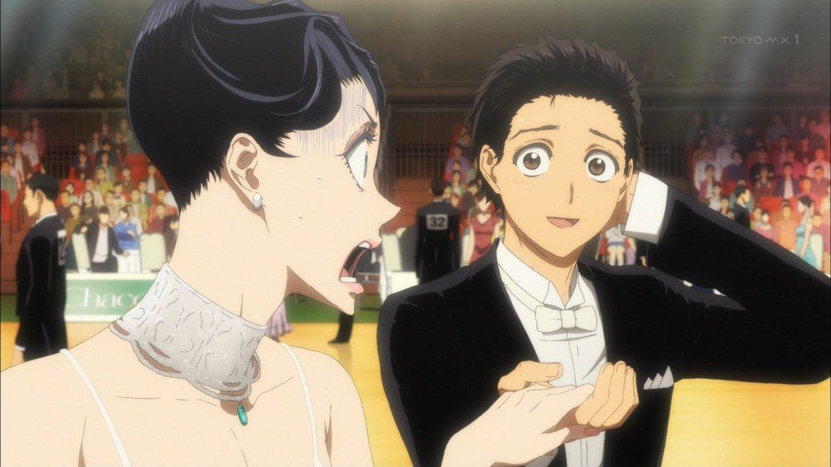 見事に頼りねえツラwww #ballroom_anime