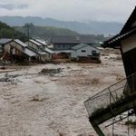 Thousands ordered to evacuate as heavy rains hit northeast Japan