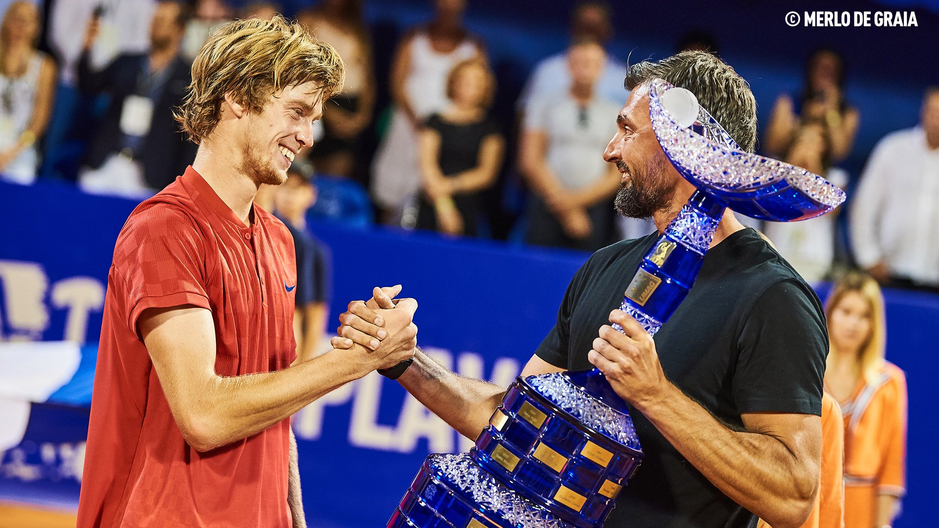 Rublev caps dream week at @CroatiaOpenUmag with first #ATP ��. More: https://t.co/252C445cEh #NextGenATP https://t.co/eskzUlg30P