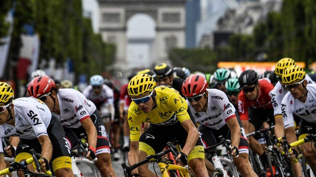 Chris Froome claims fourth Tour de France title