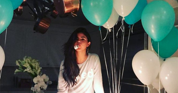The Heart Wants What It Wants, and for Selena Gomez that was a low-key 25th birthday party: